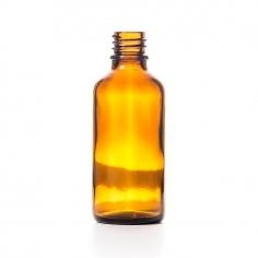 Glass bottle 50 ml, DIN 18