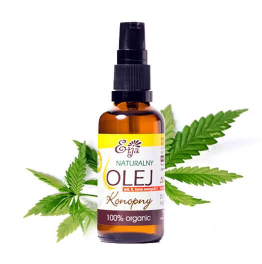 Naturalny olej konopny